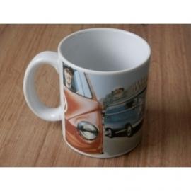 Mok met afbeelding van VW Spijlbussen.
