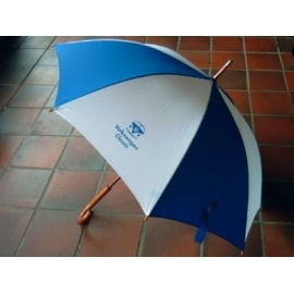 Paraplu, zeer degelijk met afbeelding van front Spijlbus.