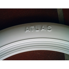 White wall ringen 14 inch, ATLAS.