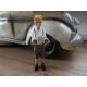 Schuco jongen met VW Kever.
