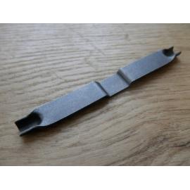 Borgklem remstelschroef voorzijde Kever 1302/1303.