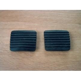 Pedaalrubber rem- en koppeling o.a. voor Golf MK1