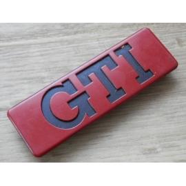 """Embleem """"GTI"""" voor Golf MK2, 191 853 714."""