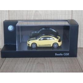 Beetle GSR schaalmodel 1/43.