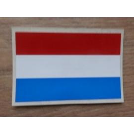 Sticker Nederlandse vlag.