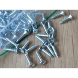 Schroefjes (62 stuks) voor rubbers van cabrioletkap.