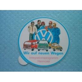 Sticker van Volkswagen, zie foto.