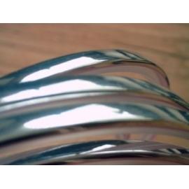 Chroom sierlijst voor raamrubber van o.a. Golf MK1