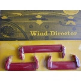 Wind-director, voor in de roosters onder de voorruit.