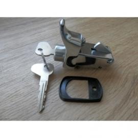 Motorkap slot VW Bus T2, chroom met sleutels.